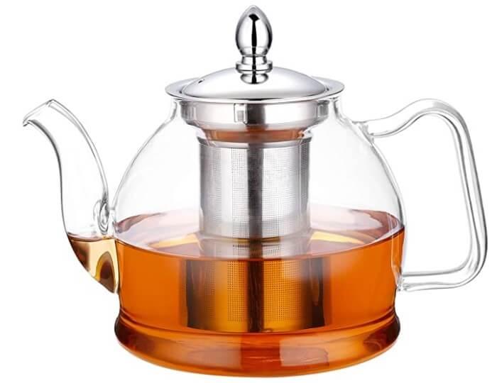 Hiware Stovetop Glass Teapot