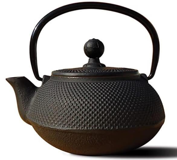 Old Dutch Cast Iron Teapot